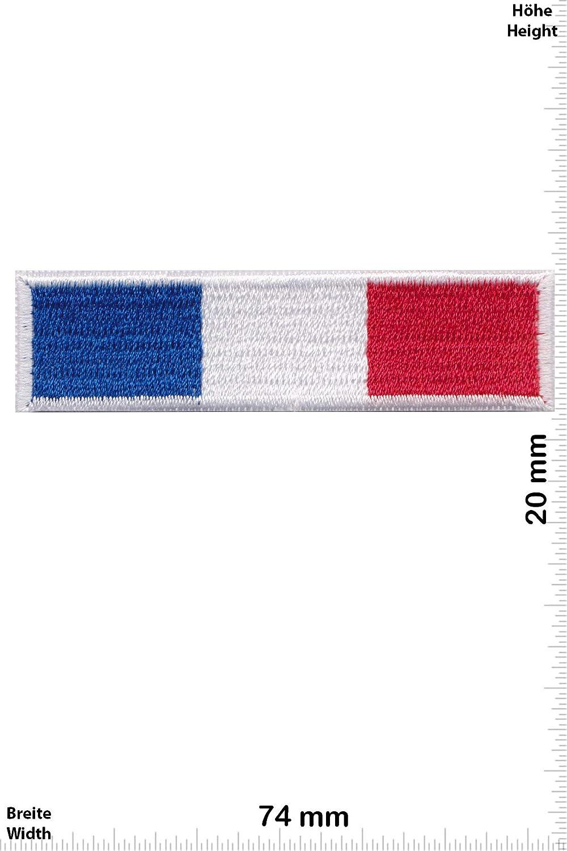 Patch - France - Small -Pays -France -France,Frankreich - Iron on Applique Embroidery Écusson brodé Costume Cadeau- Give