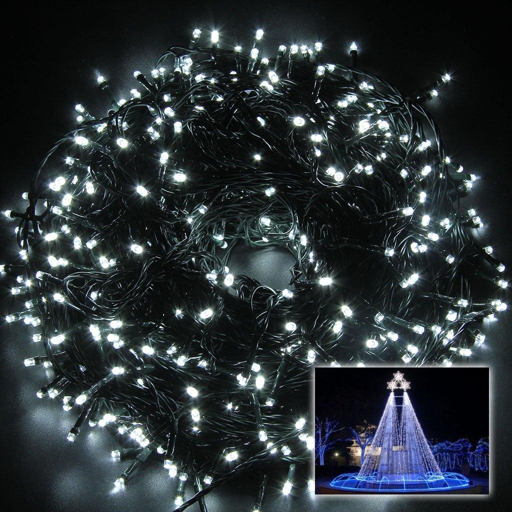 Excelvan string fairy lights 24v 500 leds 100m328ft indooroutdoor excelvan string fairy lights 24v 500 leds 100m328ft indooroutdoor christmas halloween led string lights 8 modes for festival party wedding garden cool aloadofball Gallery