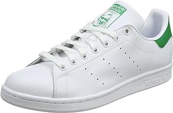 adidas Zapatillas Stan Smith para Hombre, Hombre, Stan Smith, White/Green, Size UK 9: Amazon.es: Deportes y aire libre