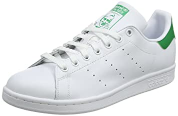 Adidas Zapatillas Stan Smith para Hombre, Hombre, Stan Smith, White/Green, Size UK 8: Amazon.es: Deportes y aire libre
