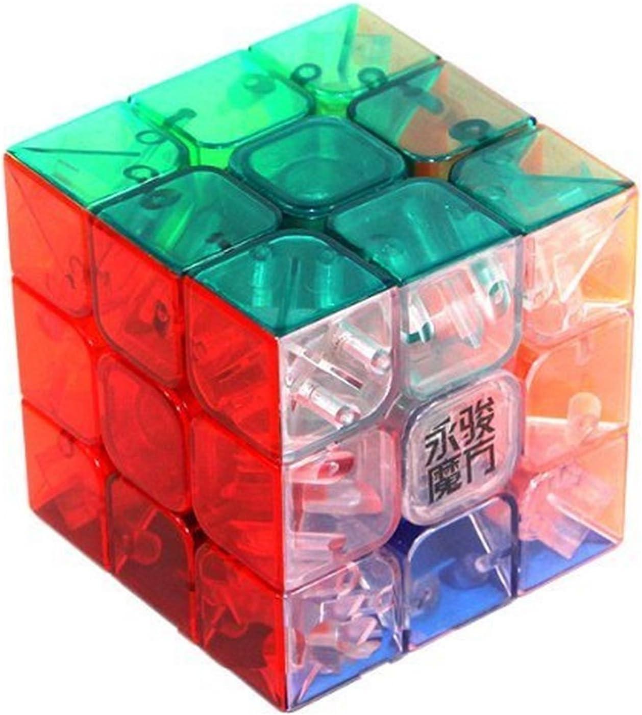 MoYu 3x3 1 x 3x3x3 YJYulong Puzzle sin pegatinas transparente 1 – Pack .HN#GG_634T6344 G134548TY21235: Amazon.es: Juguetes y juegos