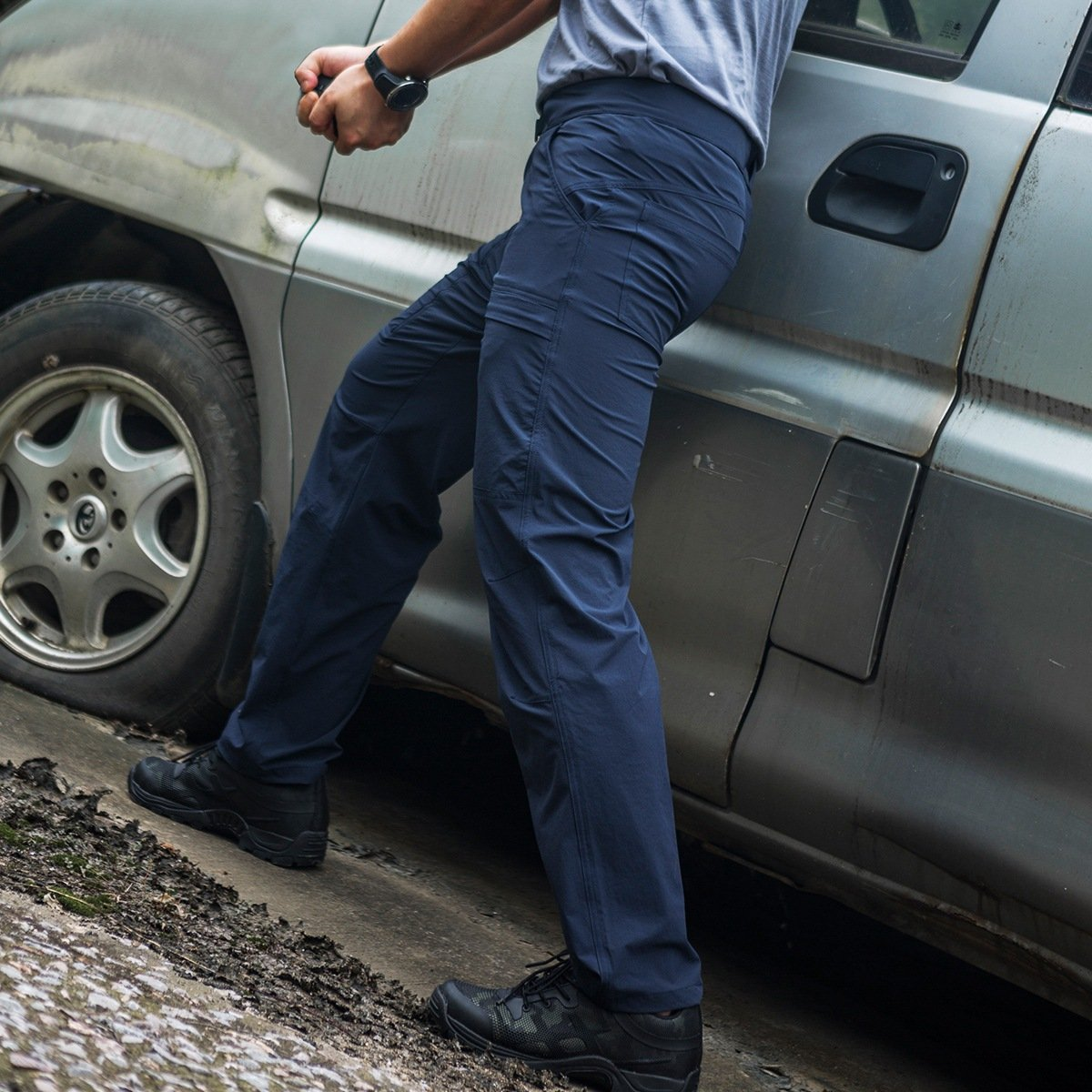 FREE SOLDIER Hombre Finos y Transpirables Pantalones de Secado r/ápido para Hombre t/ácticos para el Aire Libre