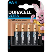 Duracell Ultra Alkaline AA Batteries (Pack of 4)