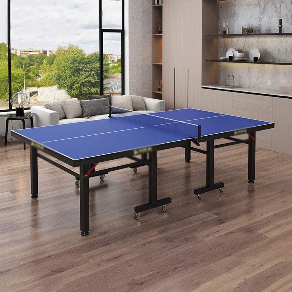Stoge 2020 Interior Mesa De Ping Pong De Tamaño Mediano para Niños, Juego De Mesa De Tenis De Mesa Portátil con Red para Jardín Interior/Exterior Gimnasio