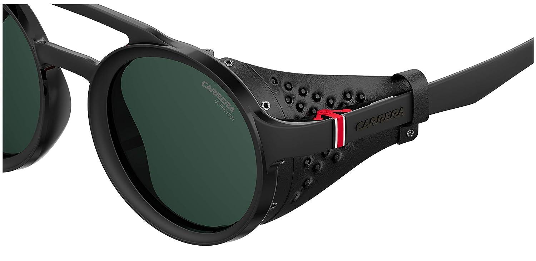 ce5e2d544f Carrera Gradient Round Unisex Sunglasses - (CARRERA 5046/S 807  49QT|49|Black): Amazon.in: Clothing & Accessories