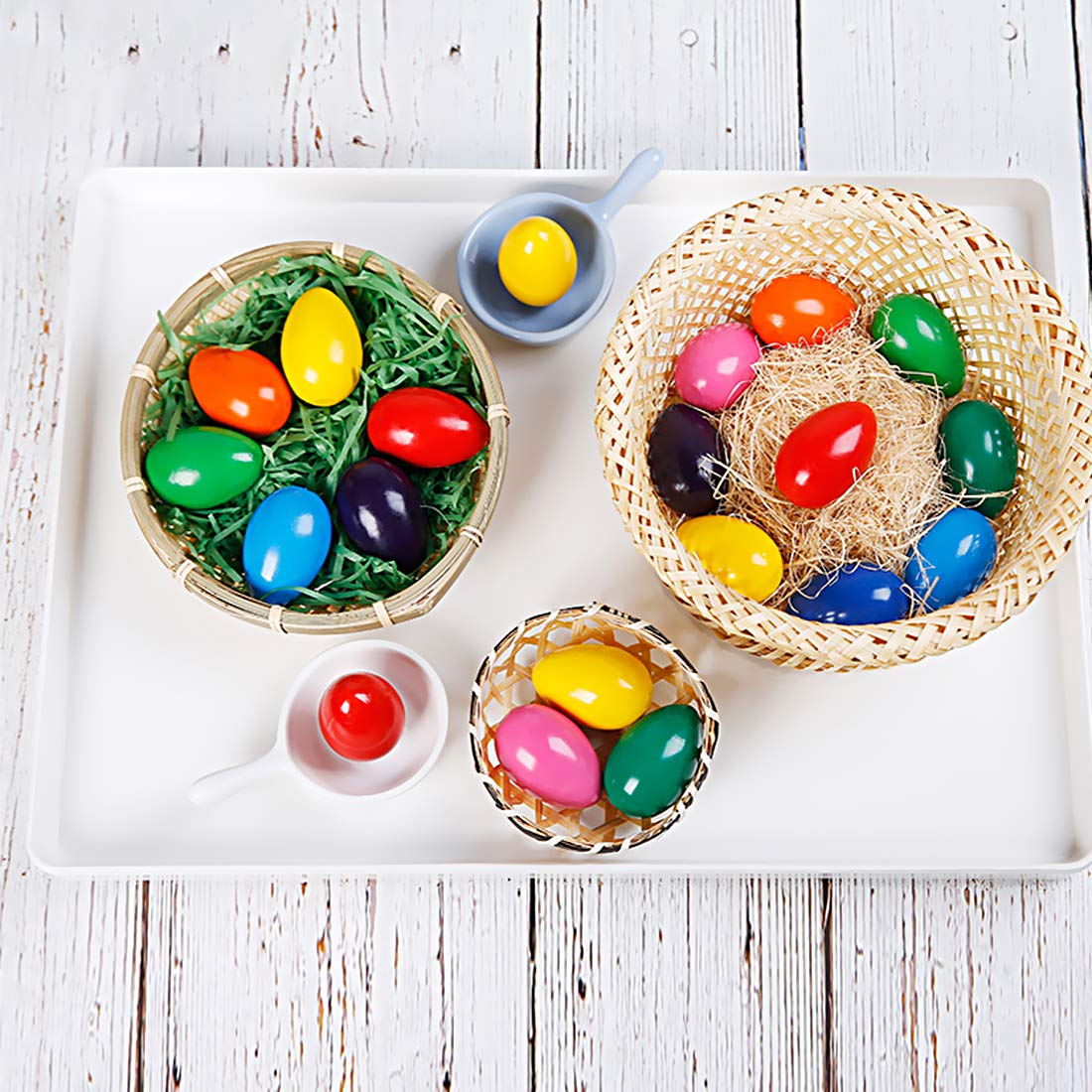 RenFox Toddler Crayons Egg Crayons for Toddlers /& 9 Colours /& 9 Colours /& Palm-Grip Crayons /& Non Toxic Paint for Toddlers Kids Crayons Drawing for Toddlers Gift for Christmas Halloween Birthday