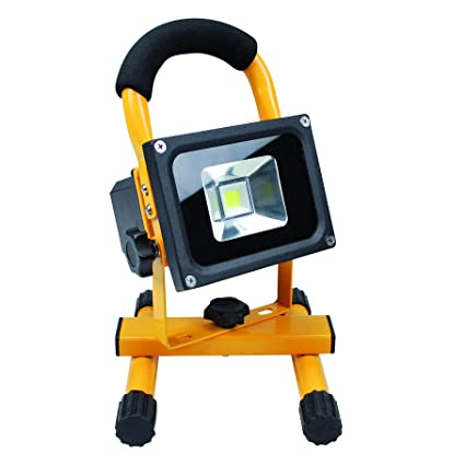Tec Hit 864210 10W Portable Rechargeable LED Floodlight IP65 ...