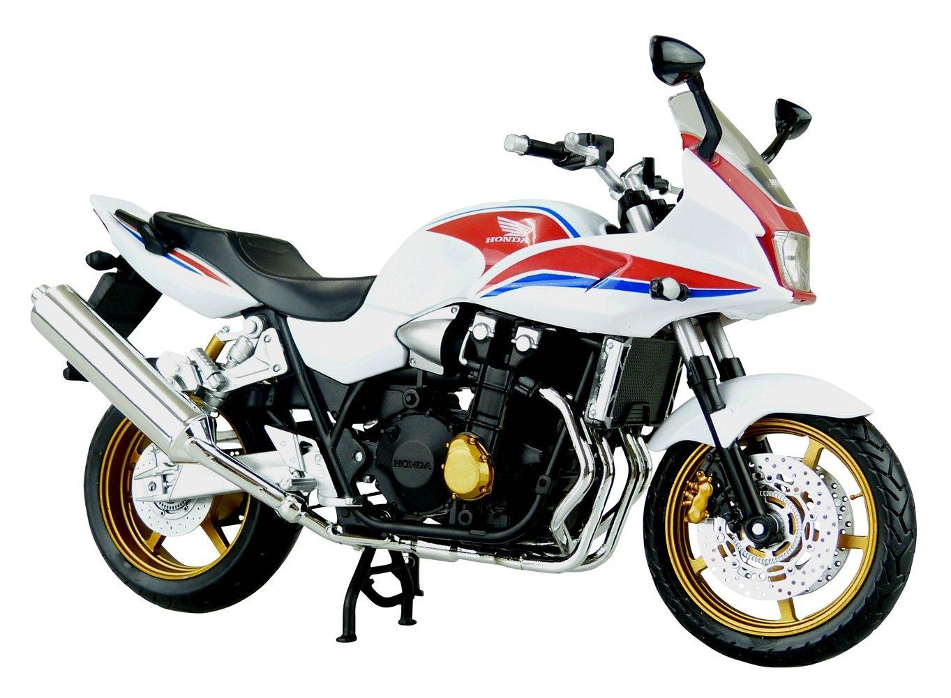 スカイネット 1/12 完成品バイクCB1300 SUPER BOLD'OR (ホワイト/レッド) B00A60K91E