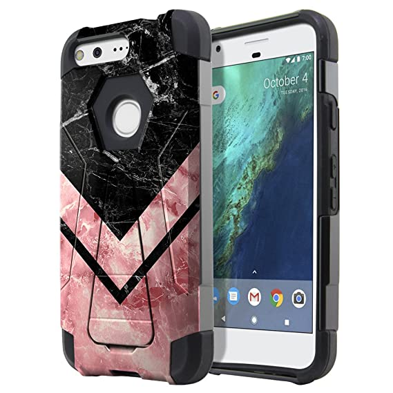 Fincibo Case Compatible With Google Pixel 5 Inch Htc 2016 Hybrid Transformer Dual Layer Protector Case Cover Tpu With Stand For Pixel 2016 Not Fit