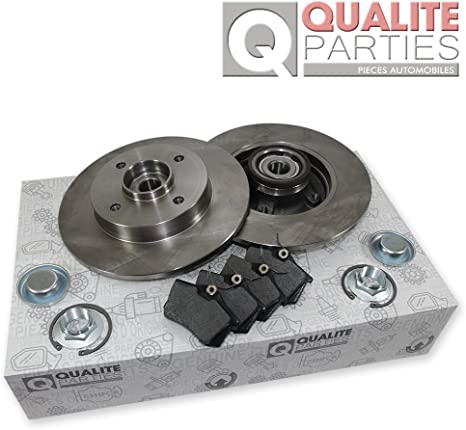 2x Disques de frein Citroen c4 peugeot 307 cc sw ARRIERE ABS roulement de roue 4246.z9