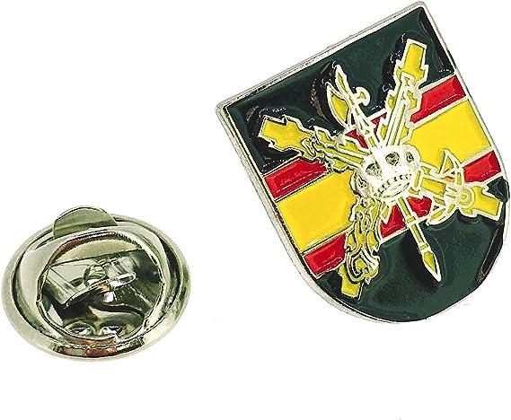 Pin de Solapa Escudo de la Hermandad de la Legión: Amazon.es: Ropa y accesorios