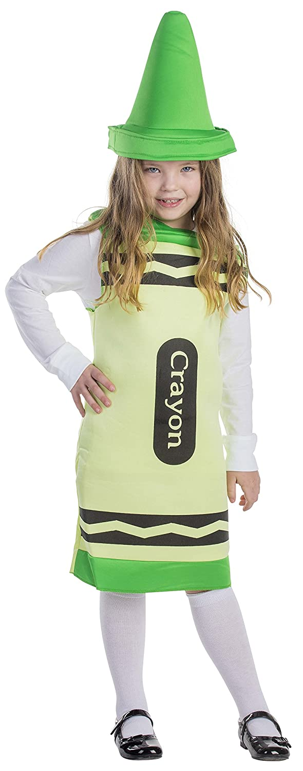 sc 1 st  Amazon.com & Amazon.com: Green Crayon Costume: Clothing