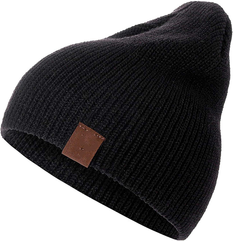 1 Pcs Hat Beanie for Men Women Warm Streetwear Knitted Hat Hat Beanies Hat Unisex Cap