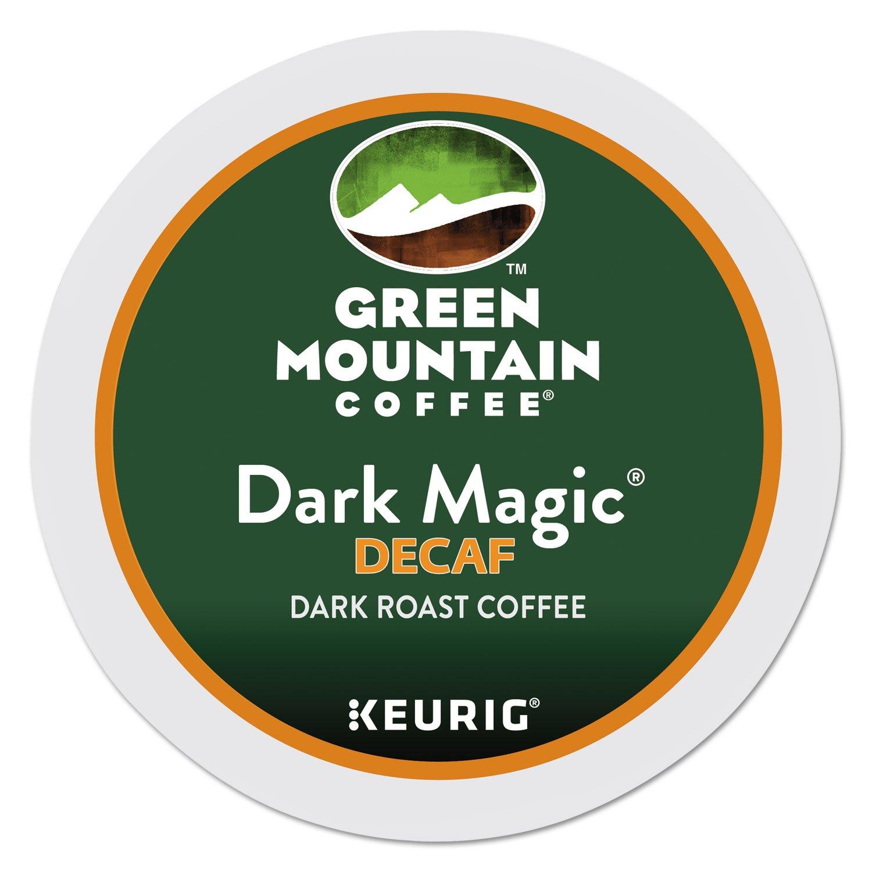 B004AMFDF6 Green Mountain Coffee Roasters Dark Magic Decaf Extra Bold Coffee K-Cups, 96/carton 71m2BBRRgycL