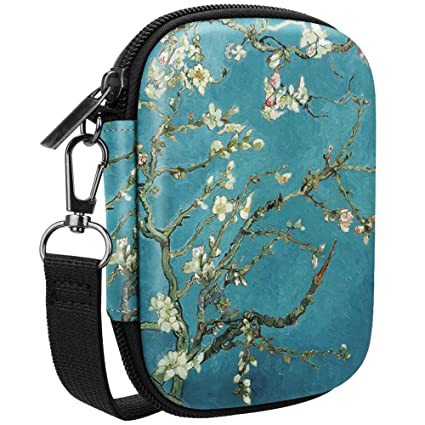 Fintie Carrying Case Compatible with HP Sprocket Photo Printer - Hard EVA Shockproof Storage Portable Travel Bag w/Inner Pocket, Removable Strap and ...