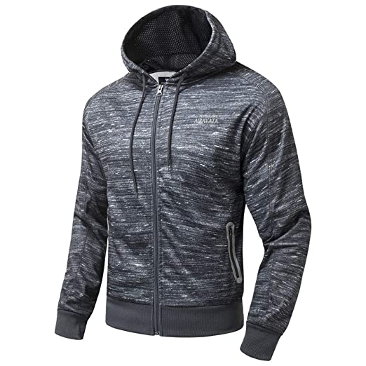 a15514bf2210 Image Unavailable. Image not available for. Color  FZDX Men s Long Sleeve  Sweatshirt Zipper ...