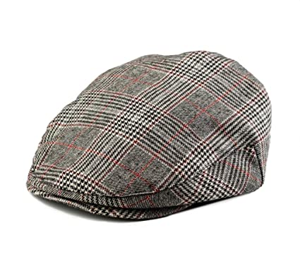 42dfa419 Amazon.com: Born to Love - Infant Toddler Kids and Baby Boy's Hat  Houndstooth Driver Cap 5 Sizes: Clothing