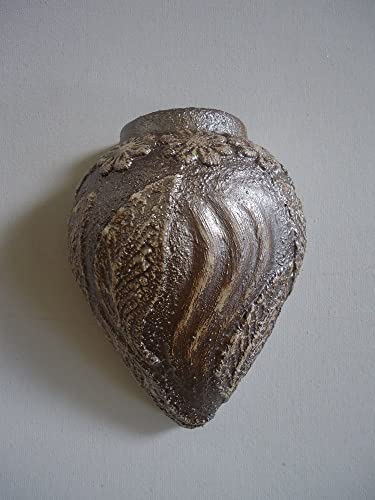 Amazon Vase Wall Hanging Lace Biscuit Ceramics Silver Leaf