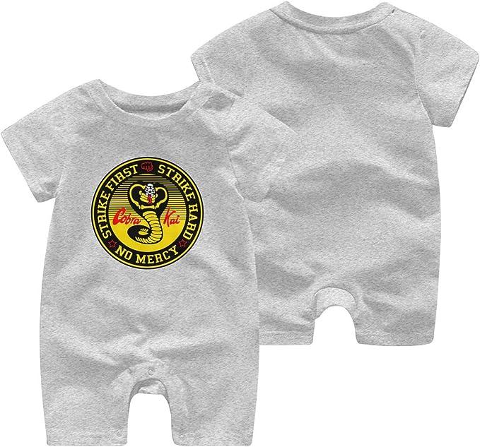Cobra-Kai Summer Short Sleeved Girls Boys Baby Romper Cotton Newborn Body Suit Baby Pajama Boy Jumpsuit