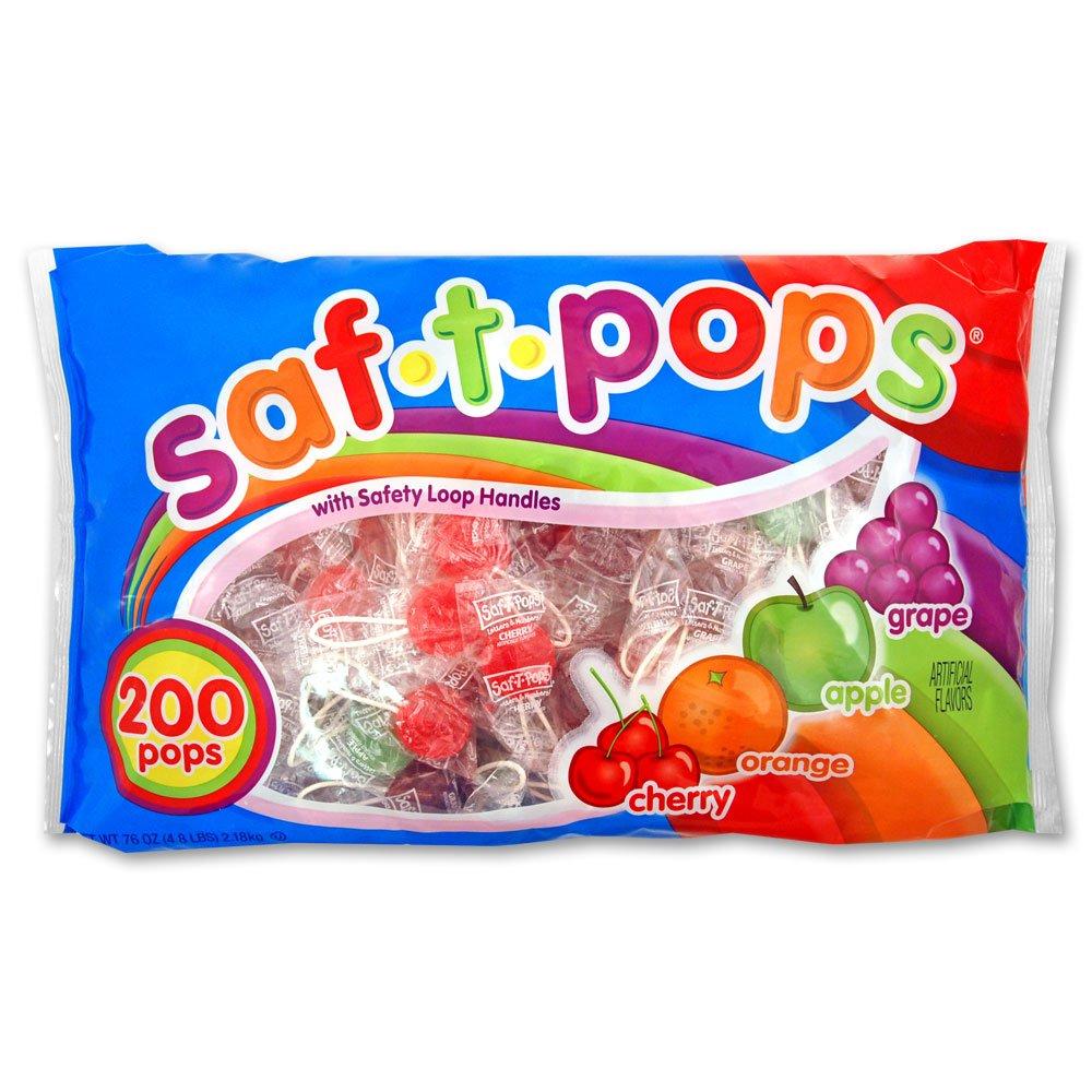 Saf-T-Pops 200Count bag