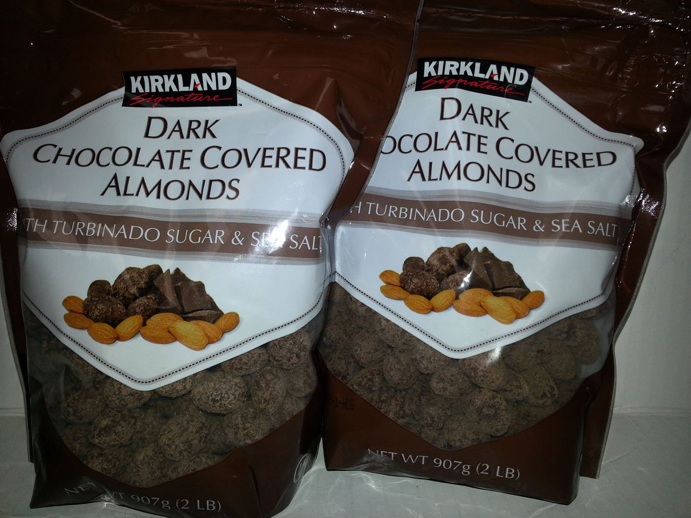 Amazon.com : Kirkland Signature Dark Chocolate Covered Almonds ...