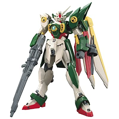 Bandai Hobby HGBF Wing Gundam Fenice Action Figure: Toys & Games