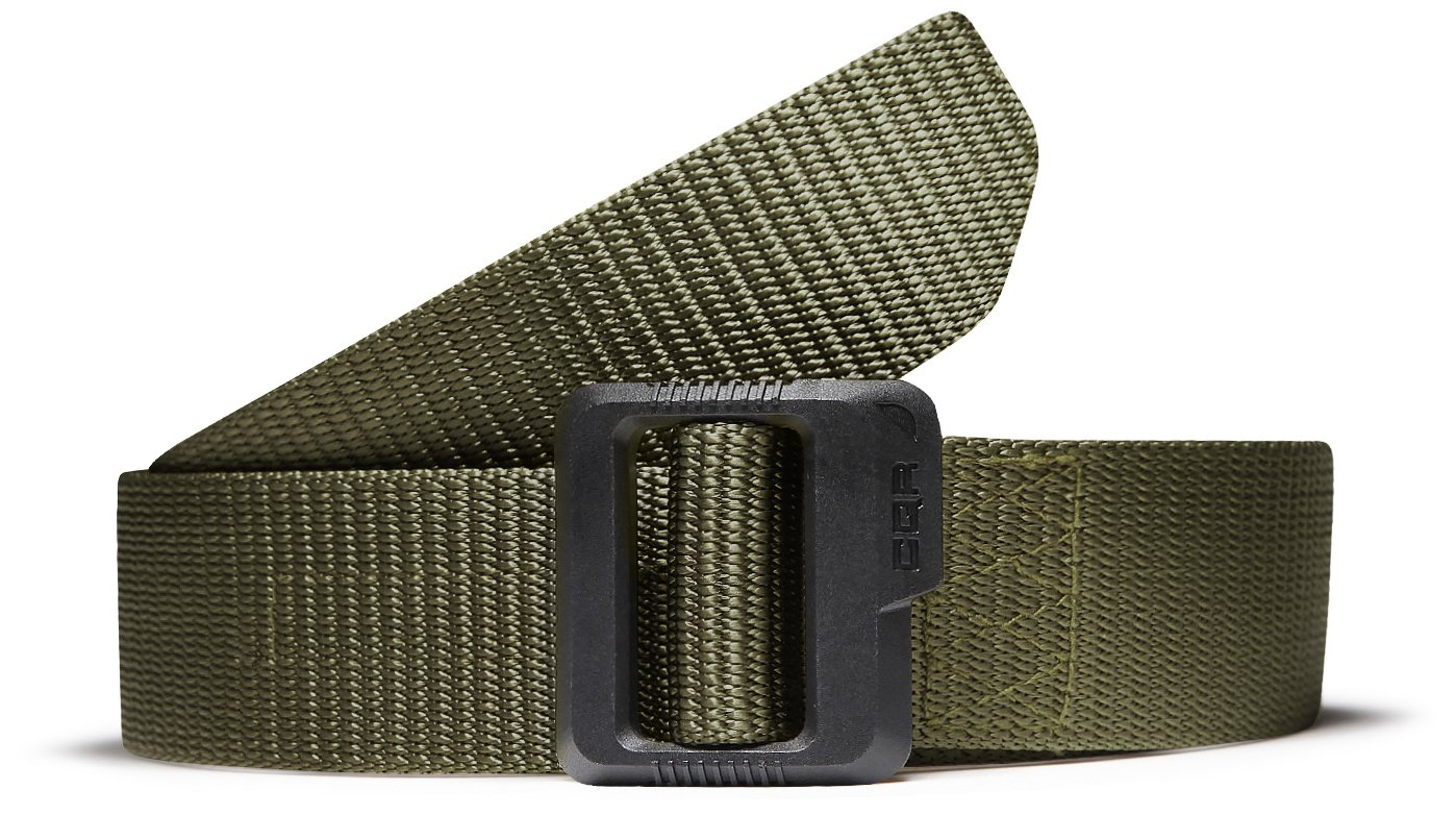 CQR CQ-MZT01-GRN_S(w28-30) Tactical Belt 100% Full Refund Assurance Nylon Webbing EDC Duty 1.5'' Belt MZT01 by CQR (Image #9)