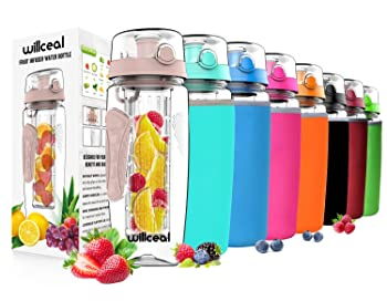 Willceal Fruit Infuser Water Bottle