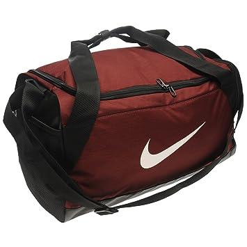 Nike Brasilia Small Grip Bag Burgundy Sports Kity Gymbag Holdall Carryall 08354cde895e0