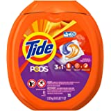 Tide PODS Spring Meadow HE Turbo Laundry Detergent Pacs IaeeMSR, 81-load Tub 3 Pack