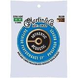 Martin Guitar MA500 Authentic Acoustic Extra Light 12-String Guitar Strings, 92/8 Phosphor Bronze