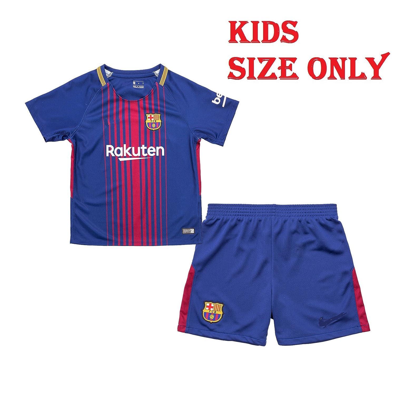 ... Luis Suarez 9 Home Barcelona Fc Football Soccer Kids Jersey Short FC  Barcelona Jersey New 2017 - 2018 Home Jersey kit for Kids - Boys Girls 2015- 16 ... af6d78d339f15