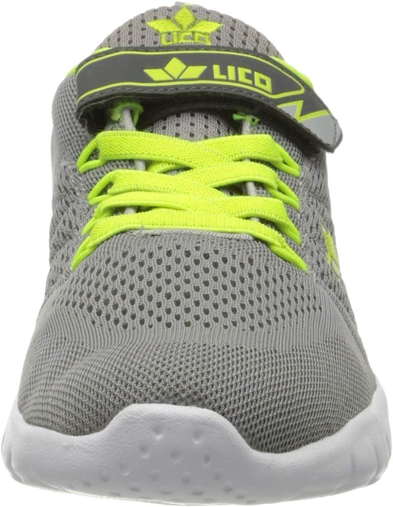 Lico Suman Vs, Zapatillas de Marcha Nórdica para Hombre, Gris (Gr/Lemon Gr/Lemon), 41 EU: Amazon.es: Zapatos y complementos