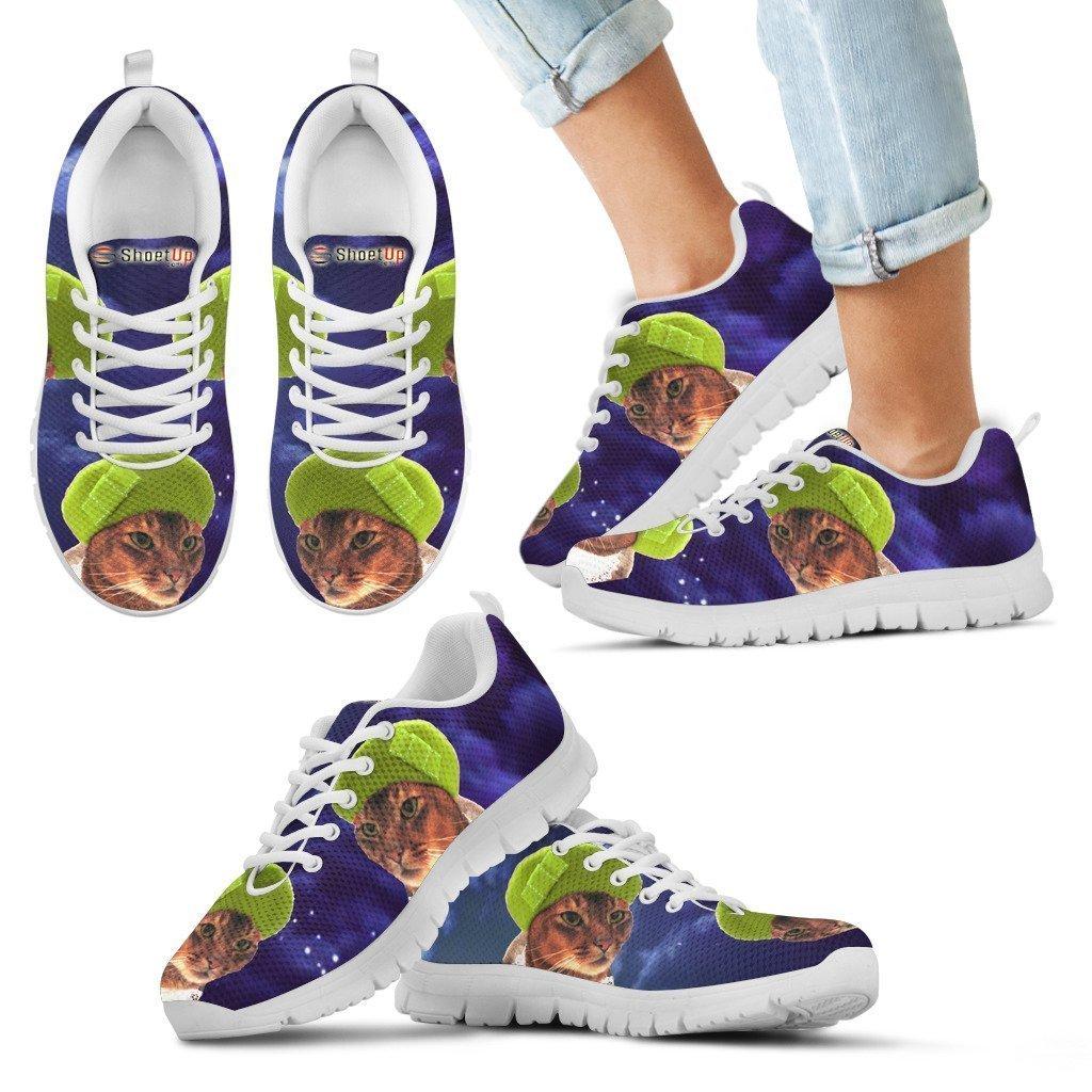 Print-Running Shoes for Women//Kids PetzPlus Abyssinian Cat Halloween