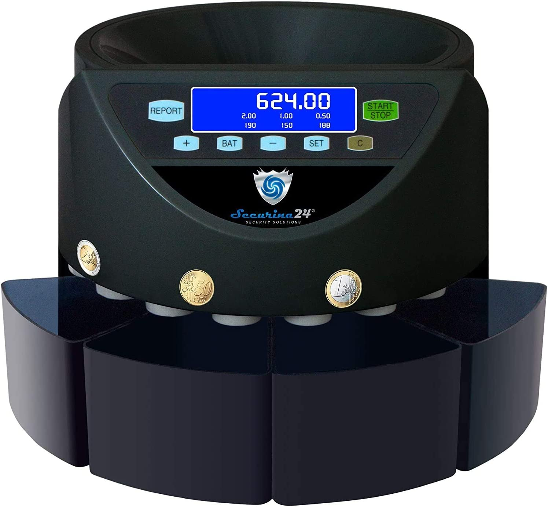 SR1204 WBB 4 Boxer Contatore della moneta contatore coin Sorter contatore di banconote contatore valore SR1204 4 pugile del Securina24