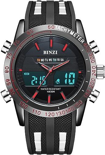 Reloj deportivo impermeable para hombres Actividad Fitness Tracker ...