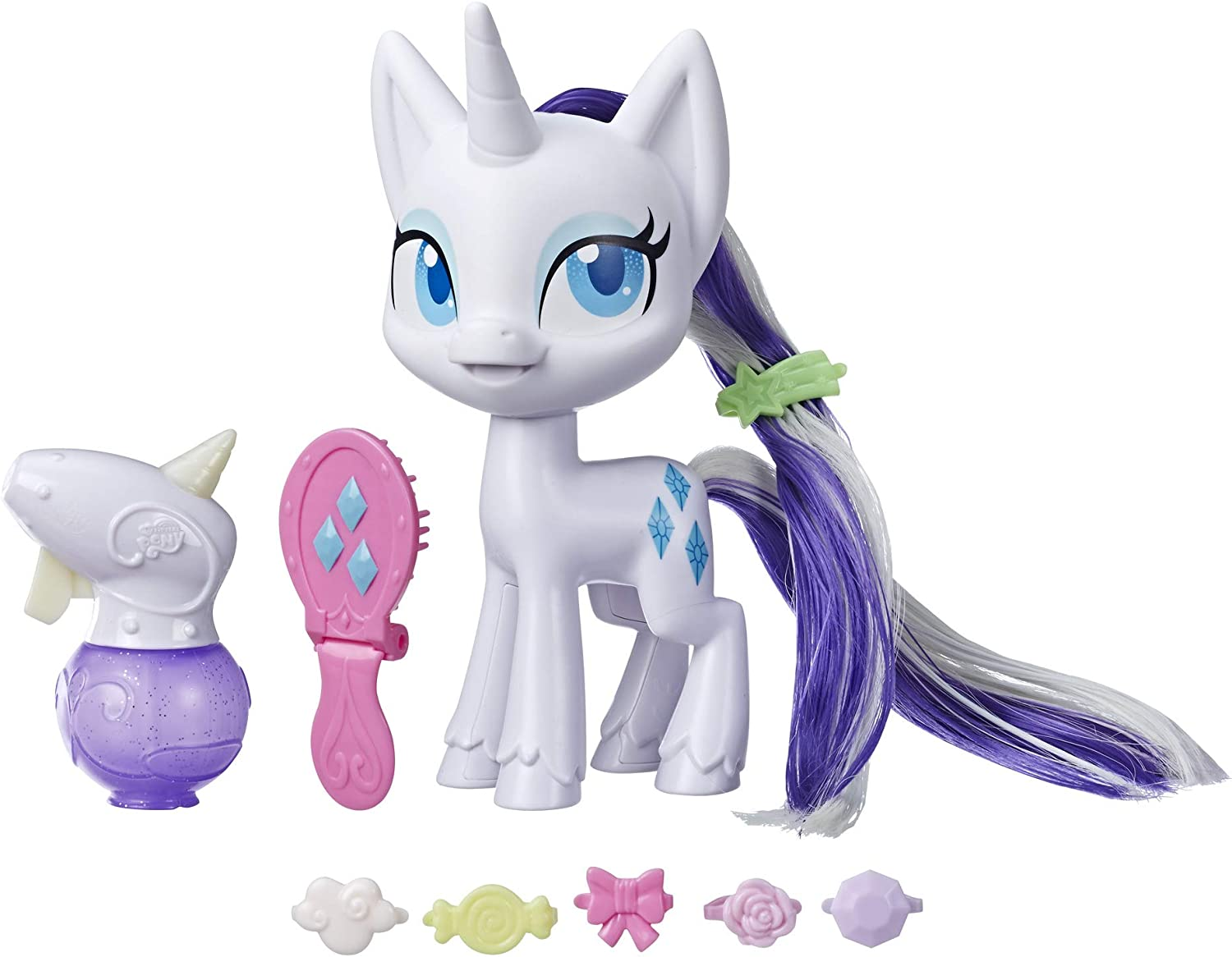 - Amazon.com: My Little Pony Magical Mane Rarity Toy -- 6.5