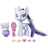 My Little Pony E9104 Magical Mane Rarity Toy -- 6.5-Inch Hair-Styling Pony Figure with Hair that Grows and Changes Color…