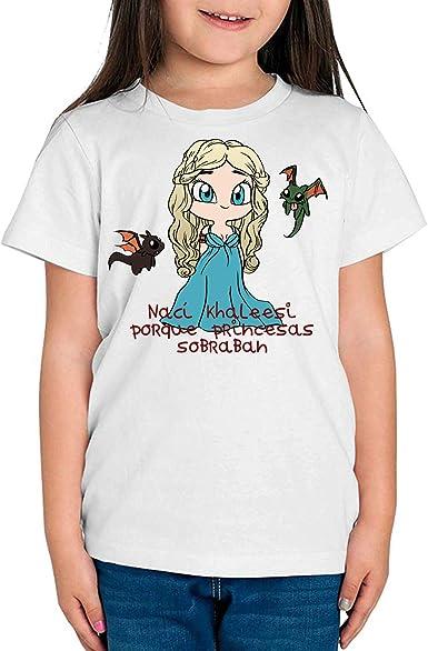 The Fan Tee Camiseta de NIÑAS Juego de Tronos Tyrion Snow Dragon Daenerys Stark 066: Amazon.es: Ropa y accesorios