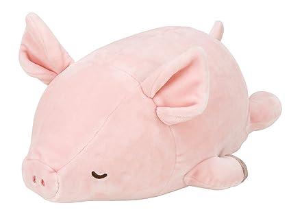 Amazon.com: livheart nemunemu animales Marshmallow Cojín Pig ...
