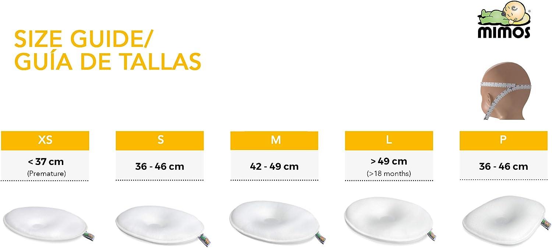 Blanca y Rayas Colores, Talla S LOTE 2 Fundas Coj/ín Mimos/®