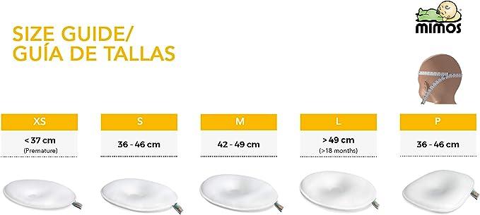 Coj/ín Mimos/® 2 Fundas LOTE Blanca y Gris Nubes, Talla M