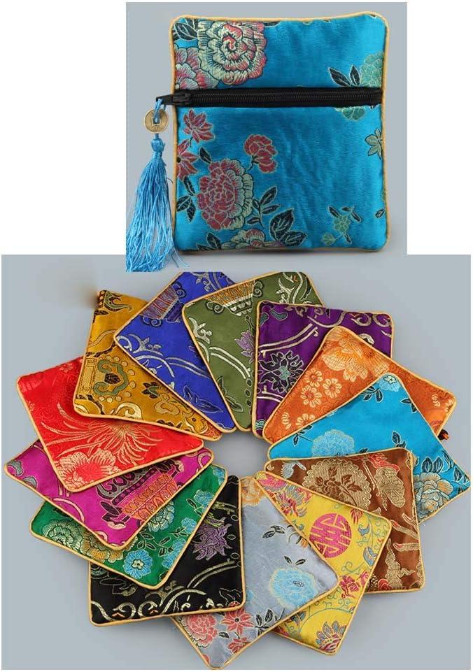 Style al/éatoire Koala Superstore Style Chinois Bijoux Sacs de Rangement Coin Pouch Cadeaux Sacs 10 pi/èces