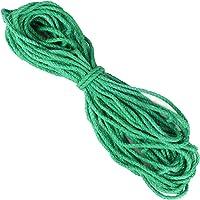 66 Voeten Jute Touw 5mm String Twine Koord voor Ambachten DIY Decoratie Cadeaupapier Kat Krabpaal (Groen)