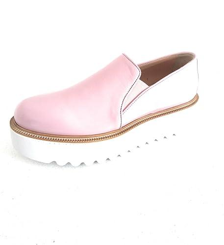 Pinko Cobalto Slip on Scarpa con Platform Rosa Pelle Lucida (39 EU ... 12731499e8c