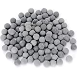 DreamDealsSG 100x Tourmaline Balls for Freshwater Aquarium Tank. Mineral Supplement Substrate. Live Shrimp Food, Betta…