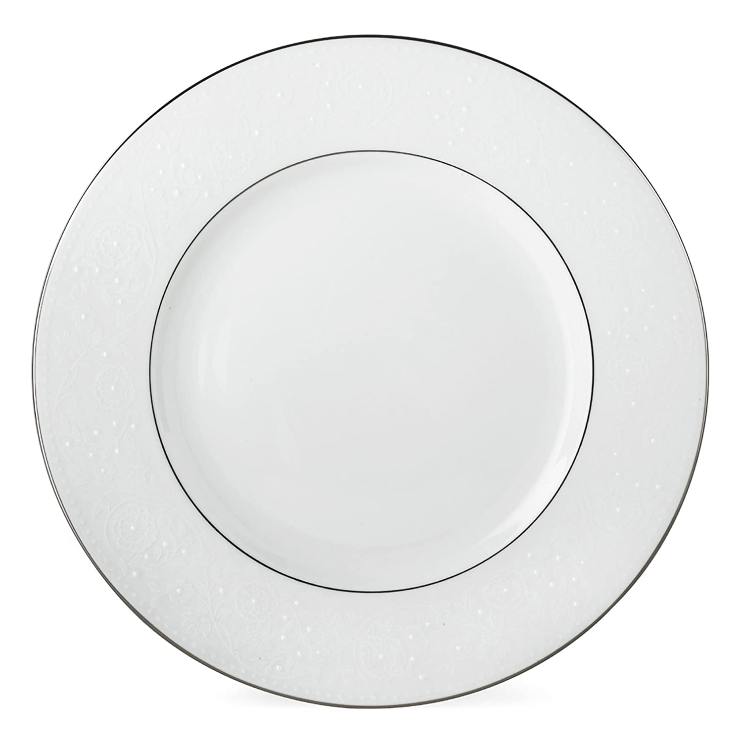 Lenox Floral Veil Bone China Platinum Banded 5-Piece Place Setting, Service for 1 6381784