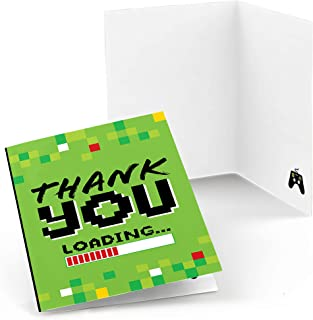 product image for Game Zone - Pixel Video Game Party or Birthday Party Thank You Cards (8 Count)