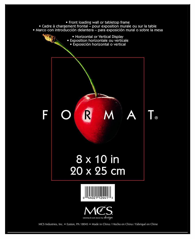 Amazon.com: MCS 8x10 Inch Format Frame, Black (12441): Home & Kitchen