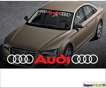 Ringe Audi Ringe 90 Cm 2 Farbig Aufkleber Aufkleber Autoaufkleber